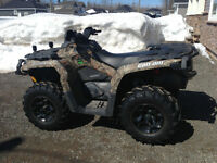 2014 Can-Am Outlander 500 XT Camo