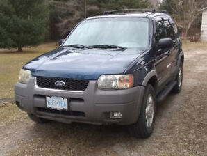 2002 Ford Escape Clean Solid Low Mileage Southern US Car $2200