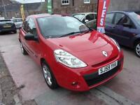 RENAULT CLIO 1.2 extreme 2009 Petrol Manual in Red
