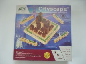 Cityscapes Wooden city strategy game mensa select
