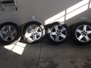 Winter tires and rims Pirelli 235/55 R19 Dodge Journey London Ontario image 2
