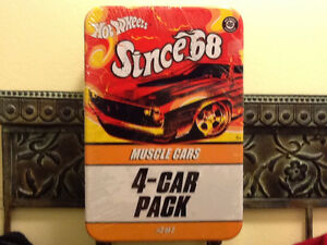 HOT WHEELS SINCE 68 RED LINE MUSCLE 4 CAR PACK London Ontario image 2
