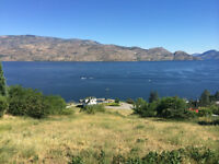 Unobstructed lake view lot in Peachland