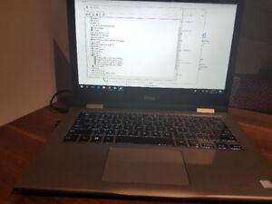Laptop Dell 13 po avec docking station, utilise 11 mois