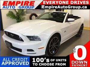 2014 FORD MUSTANG GT * RWD * CONVERTIBLE * LEATHER * HEATED SEAT