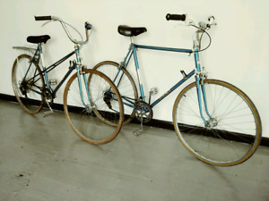 Vintage His/Hers Bicycles *Made in France