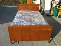 Single Plus Bed and Mattress