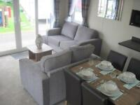 For sale new static caravan holiday home sited South Devon