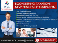 Bookkeeping Services $25hr - 50% off First Month