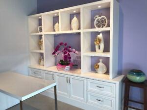 !!!Brand New White Display Shelf/ TV Shelf For Sale!!!