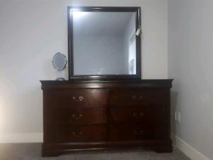 Wooden Vanity/Dresser