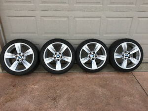 18 in. BMW wheels and tires (Style 189)