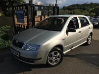 Skoda Fabia Classic 1.2 HTP Silver 5 Door One Owner Super Low Miles Finance Avai