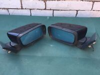 Bmw e46 blue wing mirrors