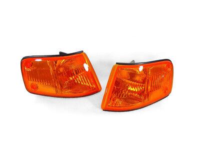 DEPO JDM SPEC Amber Lens Front Corner Lights For 1988-1989 Honda CRX CR-X EF Si