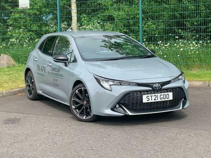 2021 Toyota Corolla GR Sport 1.8 Hybrid 122 CVT Auto 5dr Hatchback Hybrid Automa