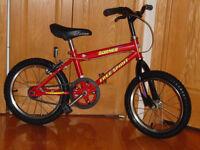 Bicyclette rouge 16 pouce