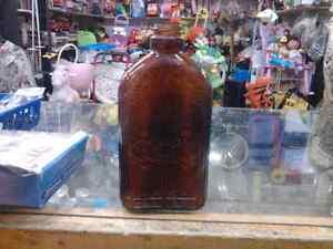 Flacon Whisky 1930-40 Brune