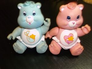 OH MY GOSH - IT'S TWINS !  CAREBEARS - THAT IS, HUGS AND TUGS !