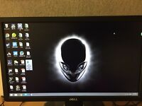 dell 20inch monitor perfect condition with HDMI cables