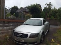 Audi TT for sale or swap for a 7 seater only