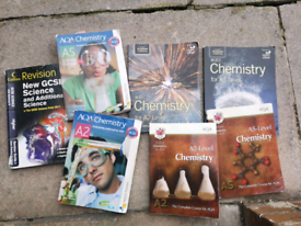 Chemistry and Biology AS and A level books