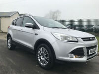 14 FORD KUGA ZETEC 4X4 2.0 TDCI ONLY 28000 MILES ONE OWNER FSH