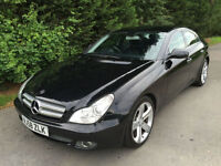 58 REG - MERCEDES CLS320 3.0CDi AUTOMATIC TURBO DIESEL - FULLY LOADED