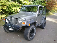 1998 Jeep TJ wrangler !!!!!!!!!!!  SELL ONLY