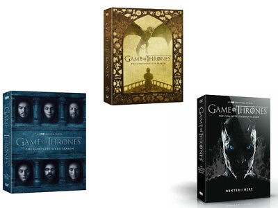 Game Of Thrones  The Complete Seasons 5 6 7  Dvd  Bundle Combo Hbo Tv New