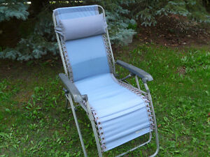 Zero gravity chair buy garden patio items for your for Canadian tire chaise lounge