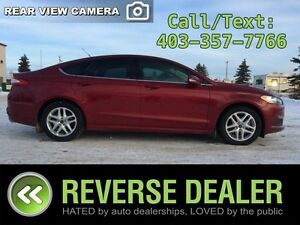 2013 Ford Fusion SE  Eco-Boost, Heated Seats, Back-up Camera  Mo