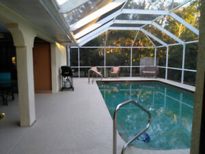 3/2  Home with heated pool in Port Charlotte, Florida, 33952