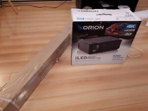 ORION R200 LED SMART PROJECTION BRAND NEW BOX NEVER BEEN OPENED