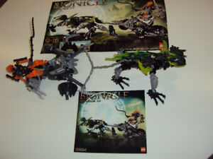 Bionicle Baranus V7 (8994) - comes with booklet