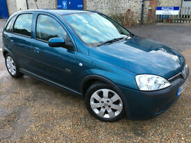 2002 '02' Vauxhall Corsa 1.2 SXi. Petrol. Manual. 5 Door. Cheap Runner. Px Swap
