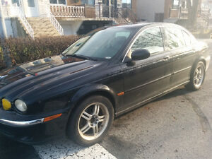 2003 Jaguar X-TYPE 2.5L _ AWD _ Black