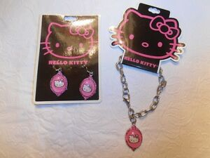 Hello Kitty Brand new Earrings, Necklace and Bracelets