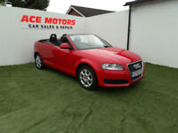 2010 AUDI A3 1.6 TD CABRIOLET 104 BHP,ONLY 62000 MILES WITH FULL SERVICE HISTORY