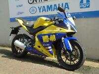 2014 YAMAHA YZF-R125 WD-40 GRAPHICS, ** LOW MILES **