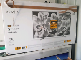 TV 55inch BRAND NEW SONY BRAVIA SMART 4K ULTRA HD HDR ANDROID