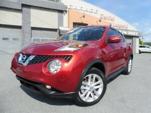 Nissan Juke SL, AWD, CUIR, TOIT, GPS ET PLUS.. 2016