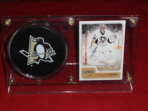 MARC-ANDRE FLEURY CARD AND PUCK HOLDER