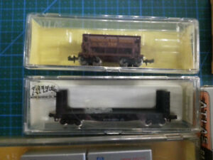 Model Train N-Scale Cars, Track and Power Supplies