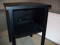 Black Multi-Purpose Table