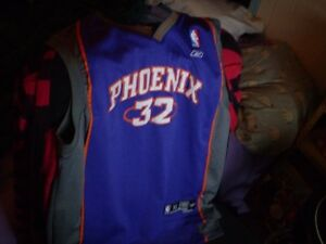 chandail officiel de basketball (made in russia) suns de phoenix