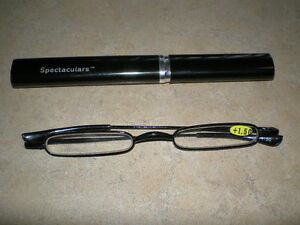 ~SPECTACULARS SPECS IN READING GLASSES W/ METAL CASE $14.99 EACH