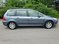 Peugeot 307 SW S Automatic PETROL AUTOMATIC 2005/55