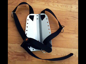 OMS scuba diving underwater aluminum backplate