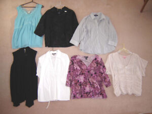 Tops, Jeans, Jackets, Dresses - size 18, 1X
